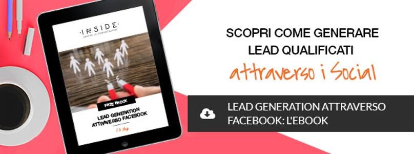 lead generation strategy attraverso sponsorizzazioni facebook