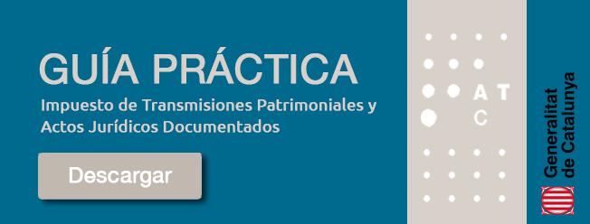 Impuesto de Transmisiones Patrimoniales Cataluña