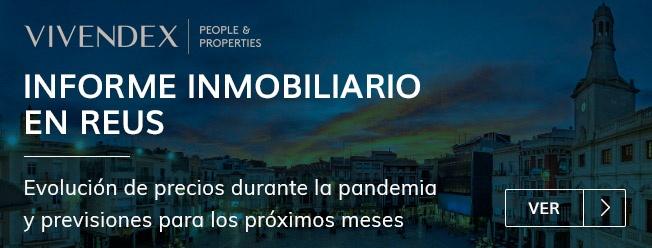 Informe inmobiliario 3º trimestre de 2020 en Reus