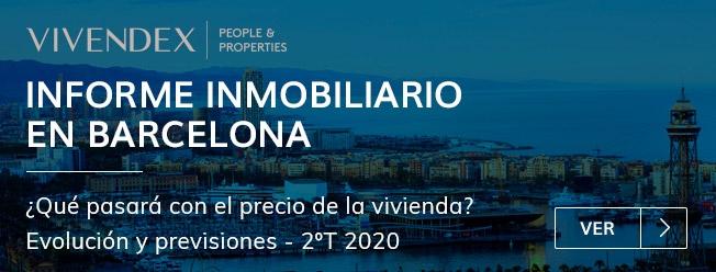 Informe Inmobiliario en Barcelona durante el Estado de Alarma