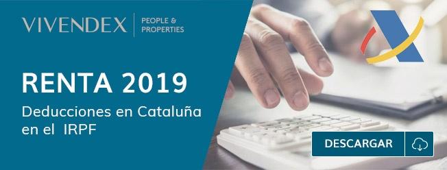 Deducciones Renta 2019 Cataluña