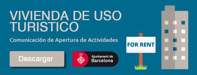 Licencia de vivienda de uso turístico en Barcelona
