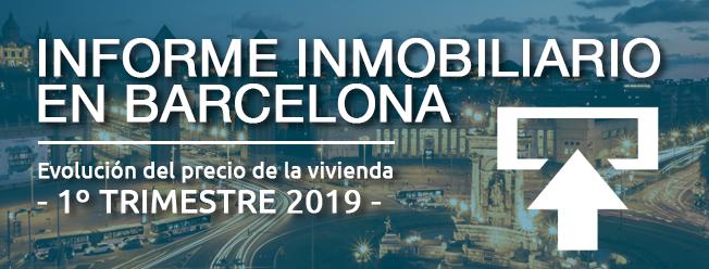 Informe mercado inmobiliario en Barcelona 2019