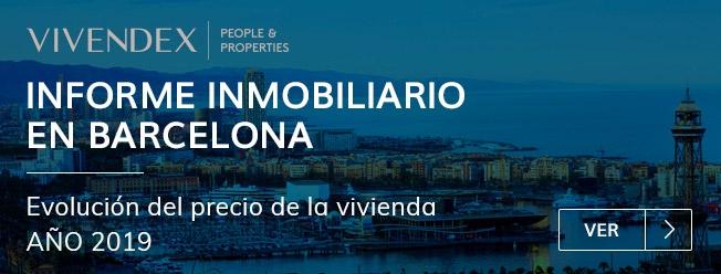 Informe del precio de la vivienda en Barcelona en 2019
