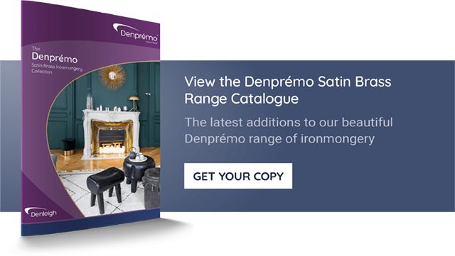 The Denprémo Satin Brass Range