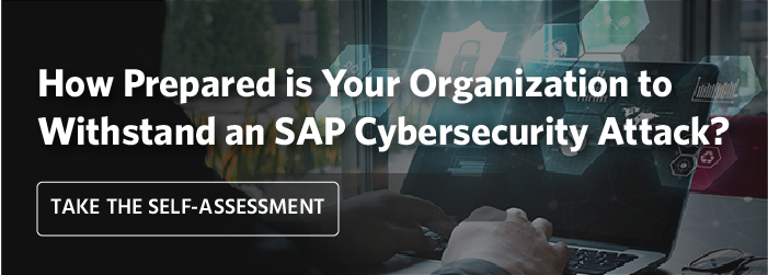 Take the SAP Security Self-Assessment