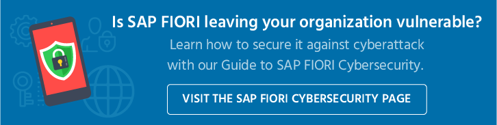 Visit the SAP FIORI Cybersecurity Page
