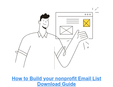 How to Build Your Nonprofit Email List: Website & Social Media
