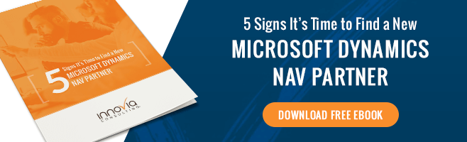 5 Signs It's Time to Find a New Microsoft Dynamics NAV Partner Button