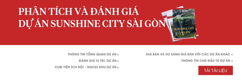 Phân tích và đánh giá dự án Sunshine City Sài Gòn