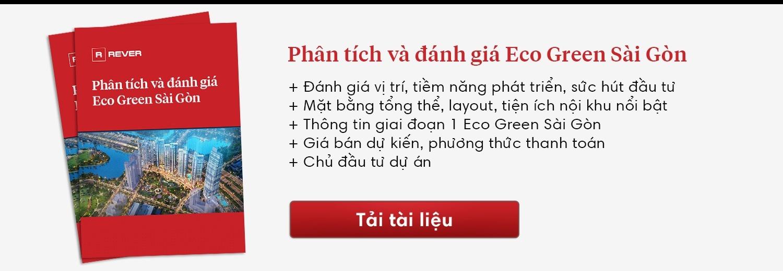 Thông tin chi tiết Eco Green Sài Gòn: vị trí, tiện ích, giá bán, PTTT, chủ đầu tư