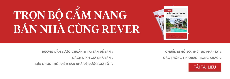 Tài liệu Cẩm nang bán nhà cùng Rever