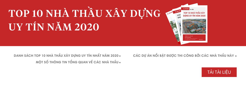 Top 10 nhà thầu xây dựng uy tín năm 2020
