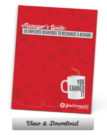 Managers Guide - 50 Behaviors To Recognize and Reward
