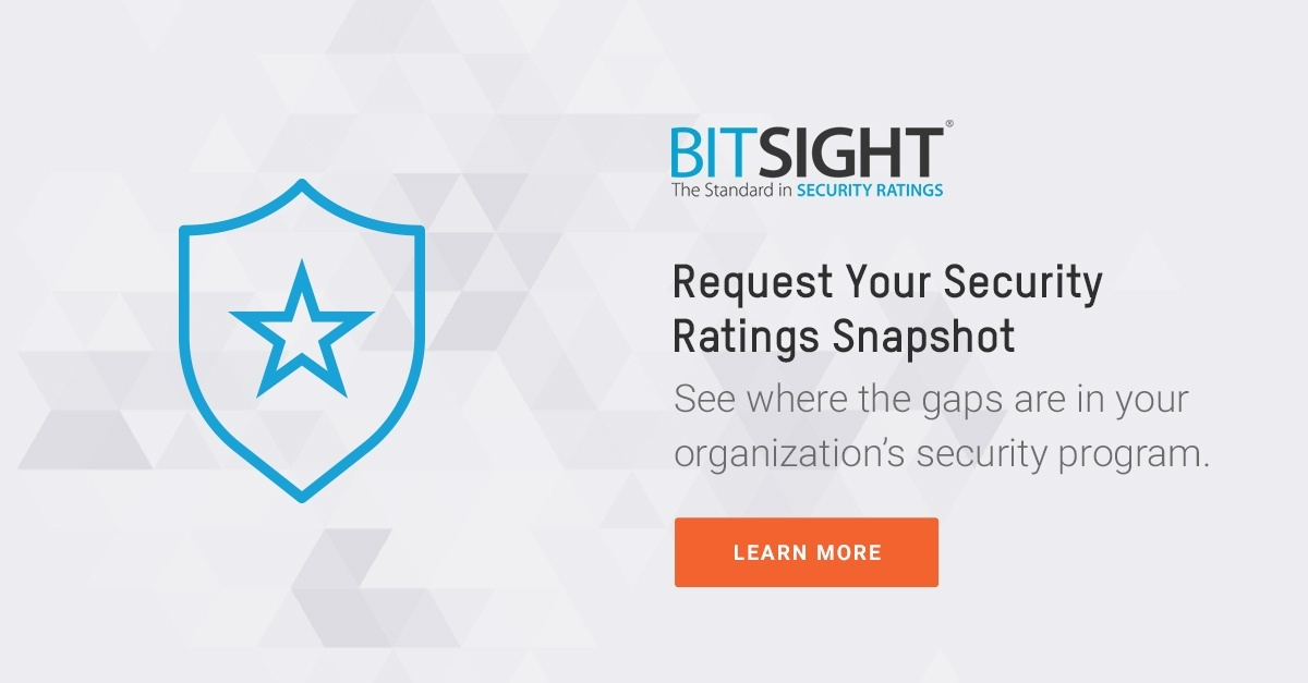 BitSight Security Ratings Snapshot