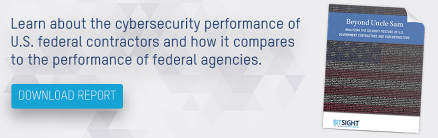 security ratings of federal government & contractors