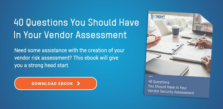 Download Guide: 40 Questions You Should Have In Your Vendor Security Assessment