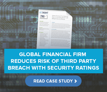 Global Financial Firm Reduces Risk of Third Party Breach