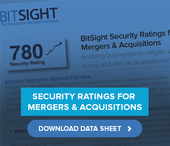 Security Ratings for Mergers & Acquisitions