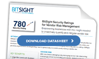 Datasheet: Security Ratings for Third Party Risk Management
