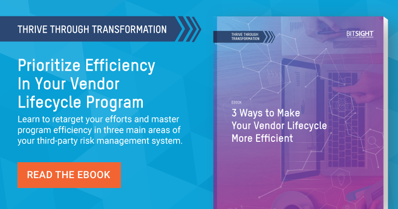 3 Ways to Make Your Vendor Lifecycle More Efficient