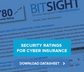 Datasheet: Security Ratings for Cyber Insurance
