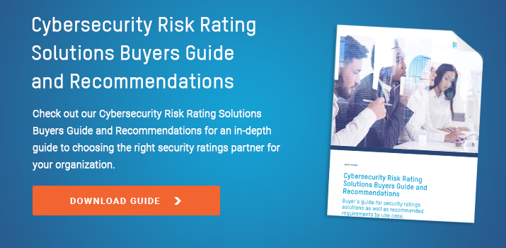 Security Ratings Buyers Guide