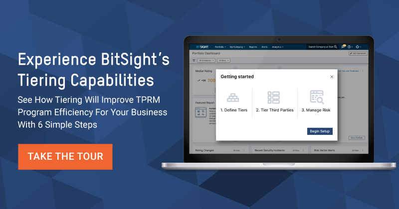 BitSight Third Party Risk Management Vendor Tiering Demo