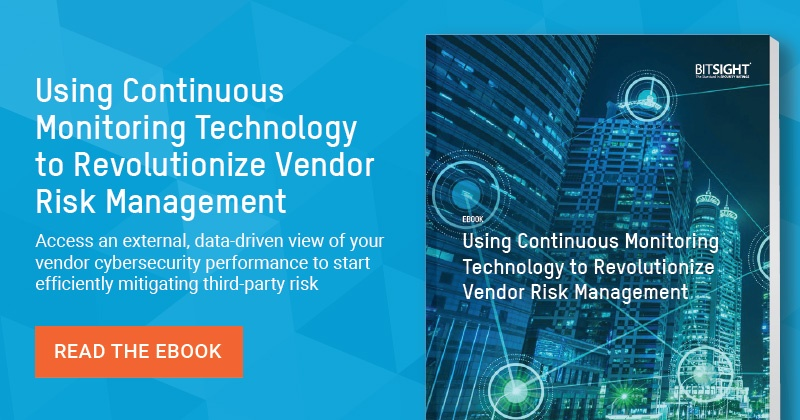Using Continuous monitoring technology to revolutionize vendor risk management