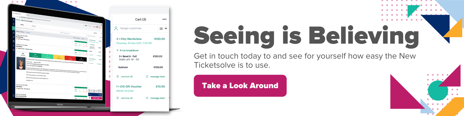 See Ticketsolve in Action
