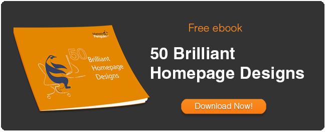 50 Brilliant Website Homepage Designs