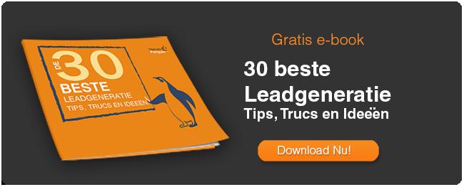 De 30 Beste Leadgeneratie Tips, Trucs & Ideeën