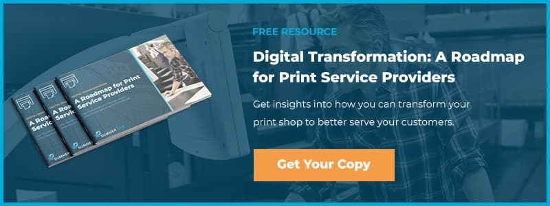 Digital Transformation: A Roapmap for Print Service Providers - Get Your Copy