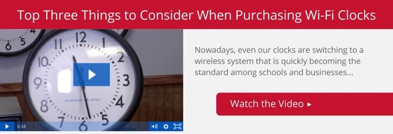 Wi-Fi Clock Video