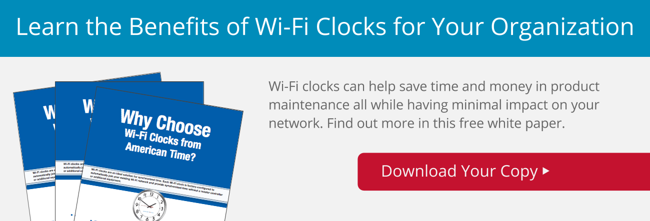 Benefits of WiFi Clocks