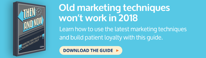 then and now marketing e-guide eye care