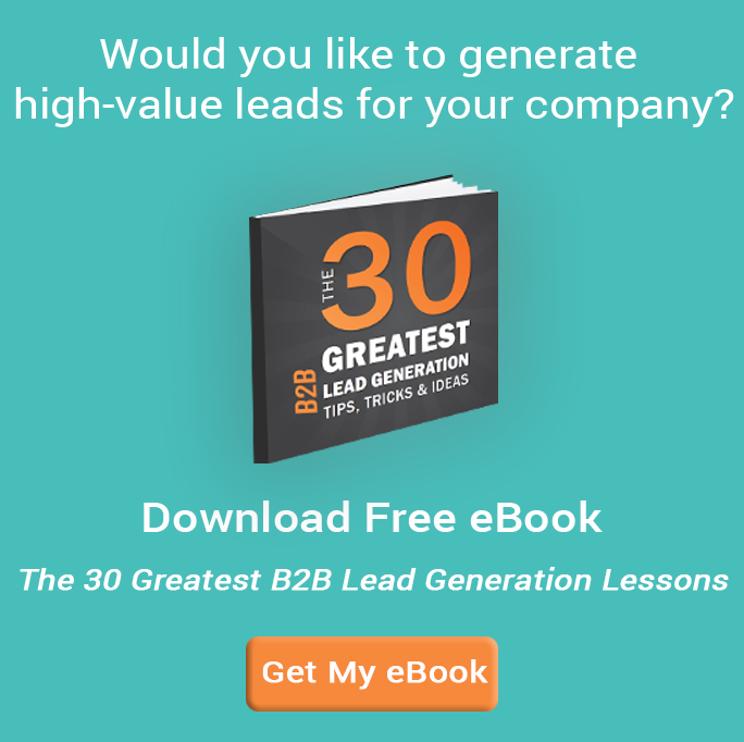 Greatest b2b lead generation tips ebook