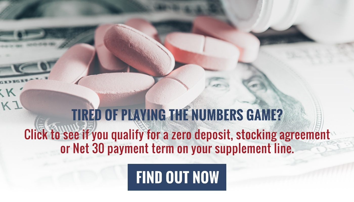 Tired of playing the numbers game? We offer low to zero deposits, stocking agreements, and net 30 payment terms to select partners.
