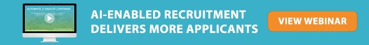 View Webinar: AI-Enabled Recruitment Delivers More Applicants