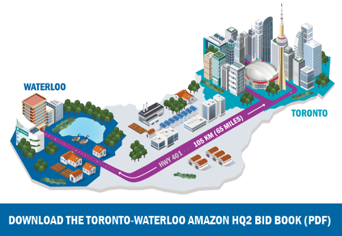 Download the Toronto-Waterloo Amazon HQ2 Bid Book