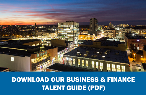 Download the business and finance talent guide