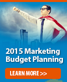 2015 Marketing Budget Planning