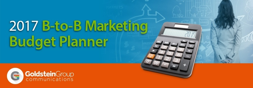 2017 B-to-B Marketing Budget Planner