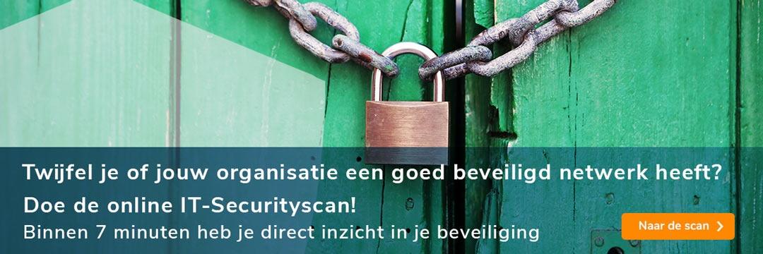 Gratis online IT-securityscan voor een goed beveiligd netwerk