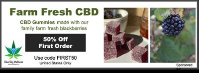 Farm Fresh CBD blackberry gummies