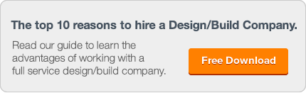 The top 10 reasons to hire a Design/Build Company.Read our guide to learn the  advantages of working with a  full service design/build company. Free Download.