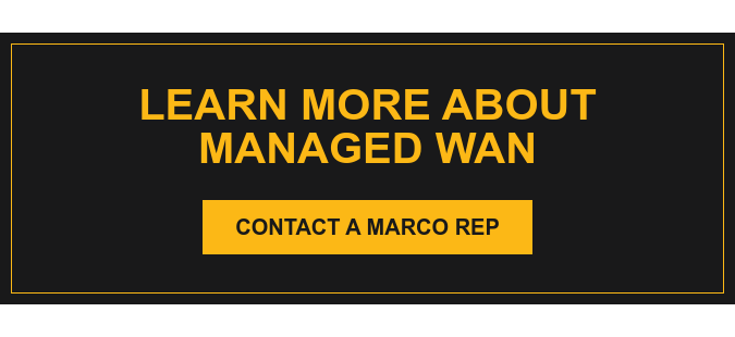 Learn More About Managed WAN Contact a Marco Rep