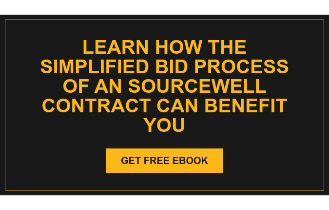 Learn how the simplified bid process of an Sourcewell contract can benefit you Get Free eBook