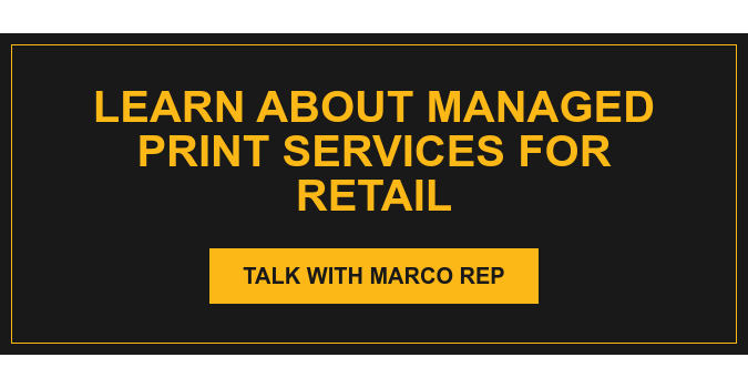 Learn about Managed Print Services for Retail Talk with Marco Rep