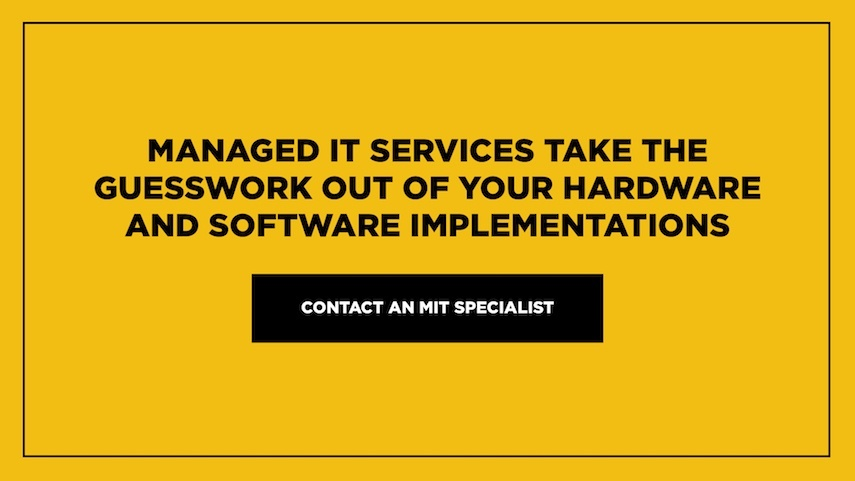 Contact a Managed IT Specialist